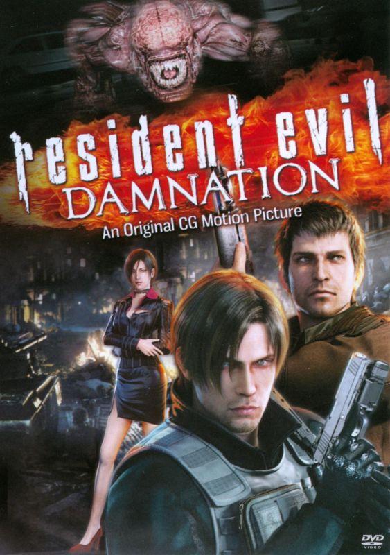 Resident Evil: Damnation [Includes Digital Copy] [UltraViolet] [DVD] [2012] 6438055