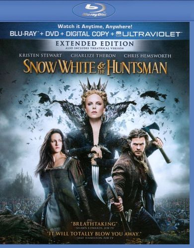 Snow White and the Huntsman [2 Discs] [Blu-ray/DVD] [2012] 6439846