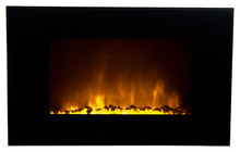Warm House Oslo Electric Fireplace Black OWF-10303