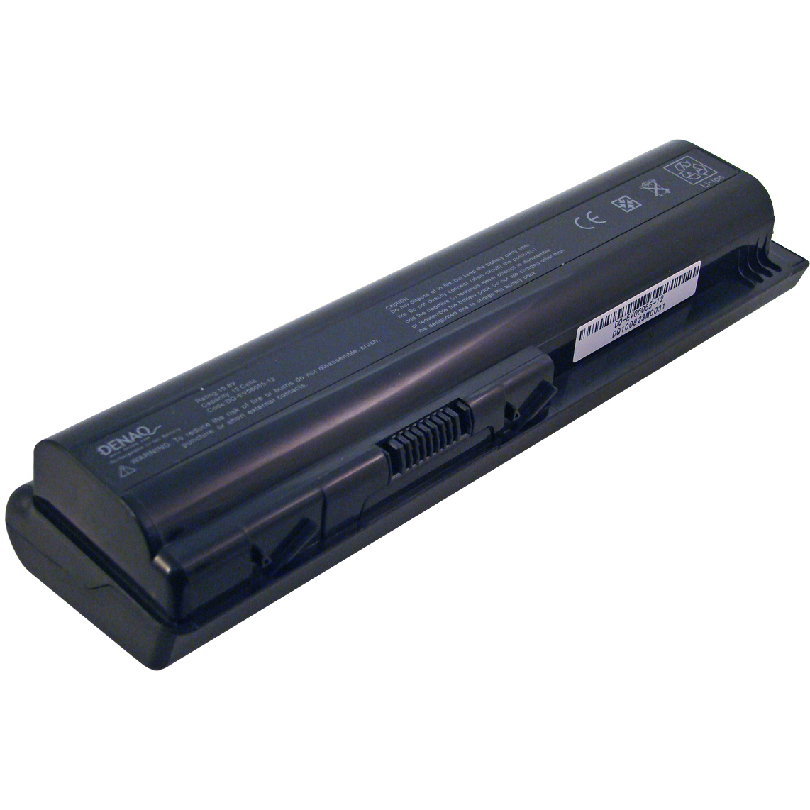 DENAQ DQ-EV06055-12 12-Cell Lithium-Ion Battery for Select HP, HP Pavilion and Presario Laptops