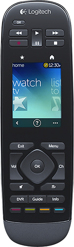 Logitech - Harmony Touch 15-Device Universal Remote