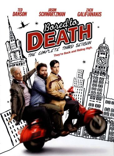Bored to Death: The Complete Third Season [2 Discs] [DVD] 6502483