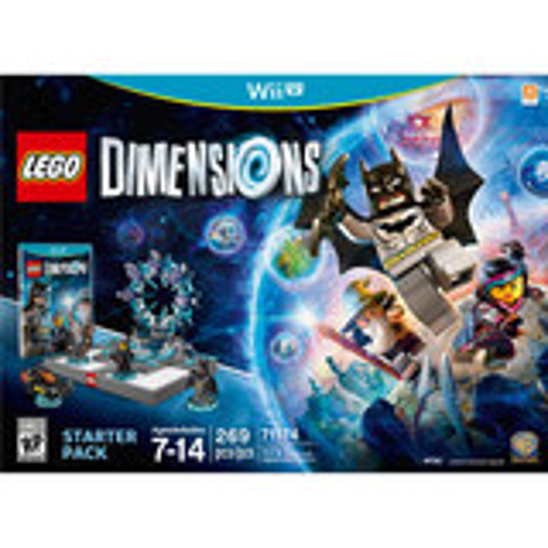 LEGO Dimensions Starter Pack Nintendo Wii U 1000534189