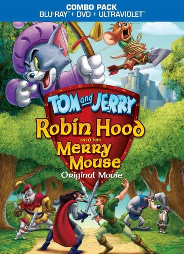 Tom and Jerry: Robin Hood and His Merry Mouse [Blu-ray] [2012] 6571121