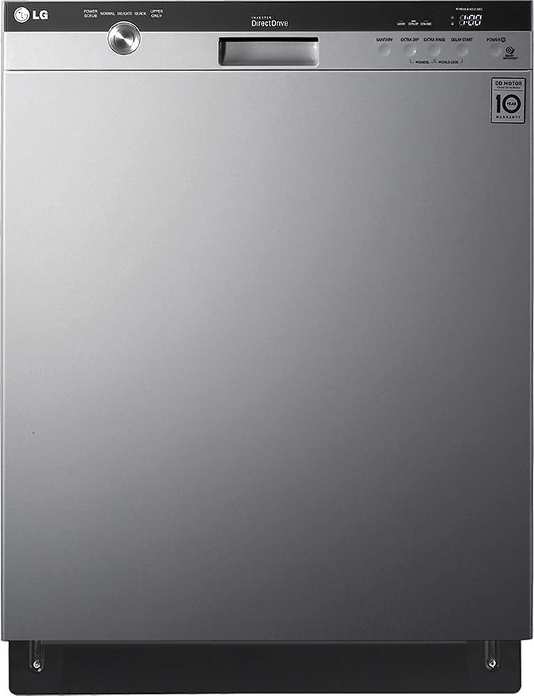"LG 24"" Built-In Dishwasher with Stainless Steel Tub Stainless steel LDS5540ST"