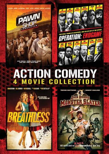 Action Comedy: 4 Movie Collection [4 Discs] [DVD] 6606018