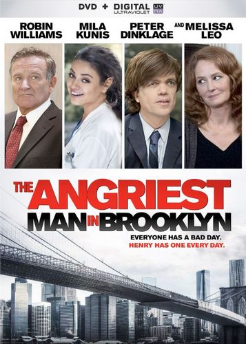 The Angriest Man in Brooklyn [DVD] [2014] 6606105