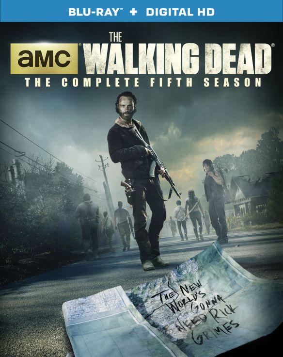 The Walking Dead: Season 5 [5 Discs] [With Digital Copy] [UltraViolet] [Blu-ray] 6610038