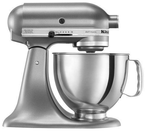 KitchenAid KSM150PSCU Artisan Series Tilt-Head Stand Mixer Contour Silver