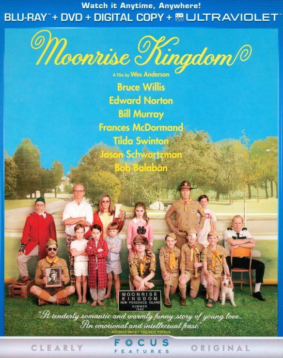 Moonrise Kingdom [2 Discs] [Includes Digital Copy] [UltraViolet] [Blu-ray/DVD] [2012] 6632314