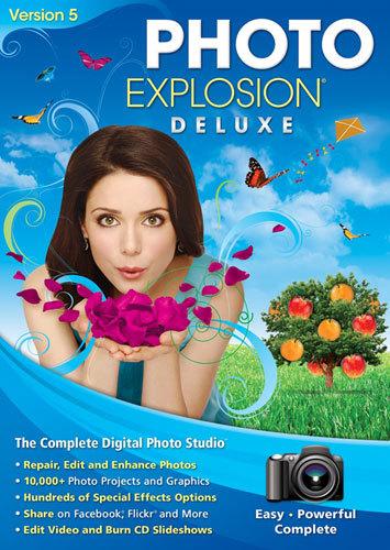 Photo Explosion Deluxe Version 5 - Windows