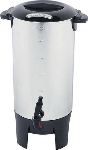 Image of Better Chef - 50-Cup Coffeemaker - Silver