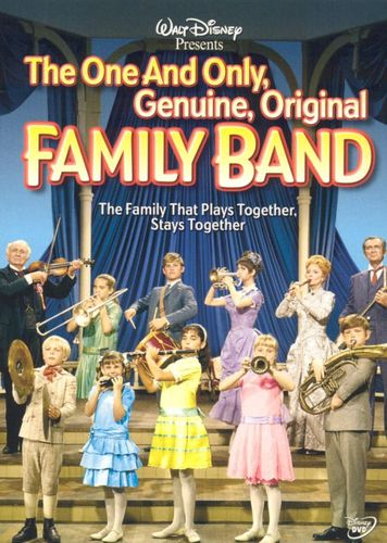 The One and Only, Genuine, Original Family Band [DVD] [1968] 6663648