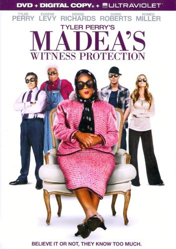 Tyler Perry's Madea's Witness Protection [DVD] [2012] 6673419