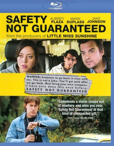 Safety Not Guaranteed [Blu-ray] [Includes Digital Copy] [UltraViolet] [2012] 6673516