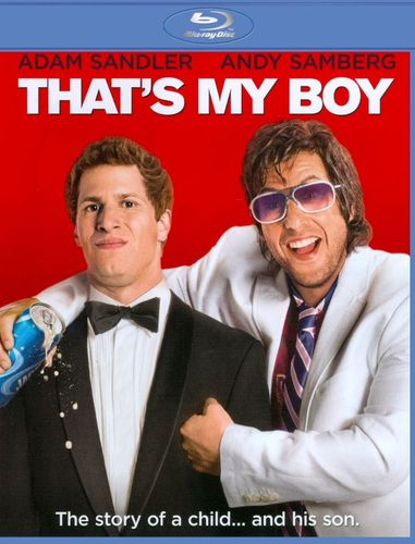 That's My Boy [Blu-ray] [Includes Digital Copy] [UltraViolet] [2012] 6673589