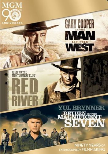 Man of the West/Red River/Return of the Magnificent Seven [3 Discs] [DVD] 6675276