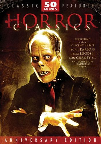Horror Classics Collection: 50 Movie Pack [12 Discs] [DVD] 6681922