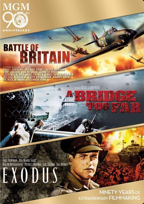 Battle of Britain/A Bridge Too Far/Exodus [3 Discs] [DVD] 6685189