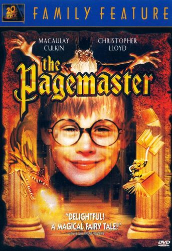 The Pagemaster [DVD] [1994] 6687356