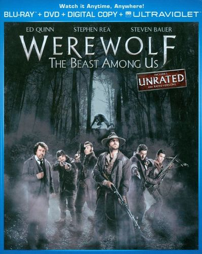 Werewolf: The Beast Among Us [2 Discs] [Blu-ray/DVD] [2012] 6697081