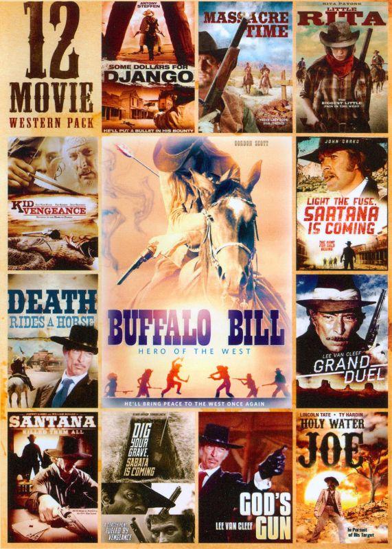 12 Movie Western Pack [3 Discs] [DVD]