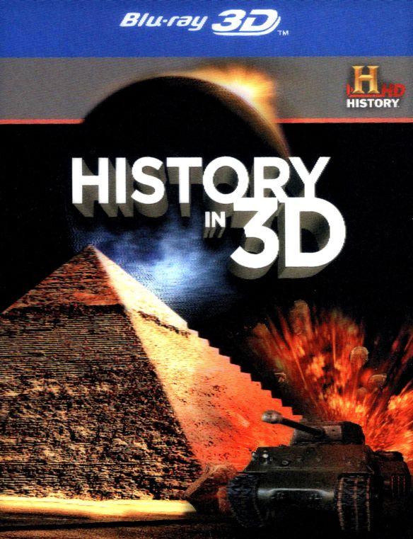 History in 3D [3 Discs] [3D] [Blu-ray] [Blu-ray/Blu-ray 3D] 6697433