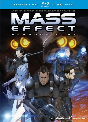 Mass Effect: Paragon Lost [2 Discs] [Blu-ray/DVD] [2012] 6697955