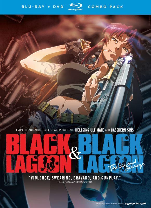 Black Lagoon/Black Lagoon: The Second Barrage [2 Discs] [Blu-ray] 6698053