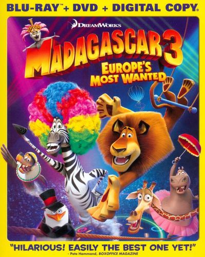 Madagascar 3: Europe's Most Wanted [Blu-ray/DVD] [2012] 6698718