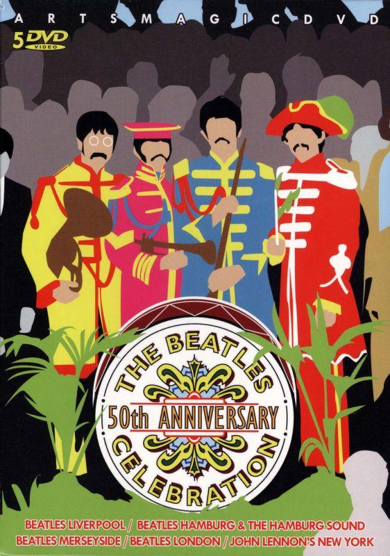 The Beatles: 50th Anniversary Celebration [8 Discs] [DVD] 6699186