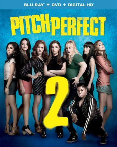 Pitch Perfect 2 [Includes Digital Copy] [Blu-ray/DVD] [2015] 6702153