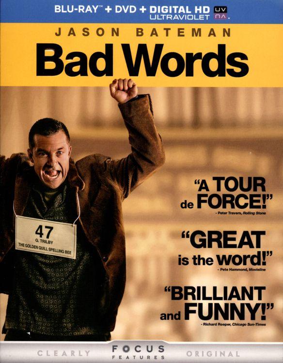 Bad Words [2 Discs] [Includes Digital Copy] [UltraViolet] [Blu-ray/DVD] [2013] 6712044