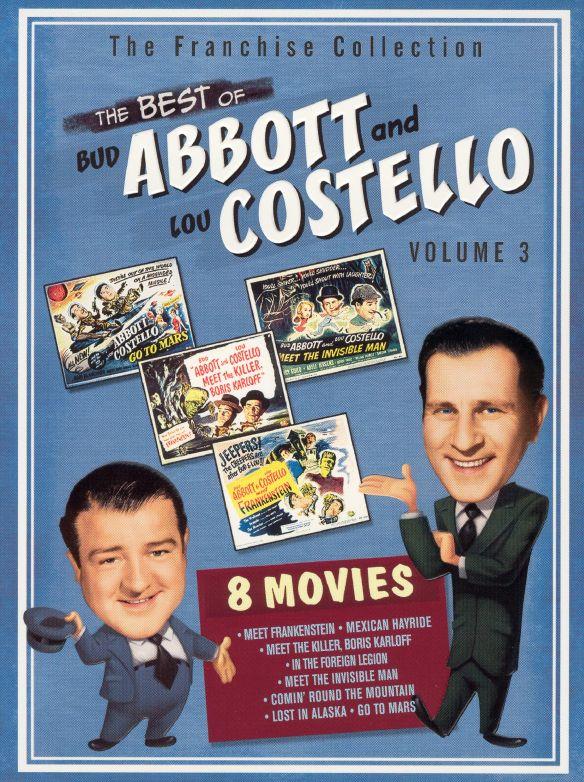 The Best of Bud Abbott & Lou Costello, Vol. 3 [2 Discs] [DVD] 6731502