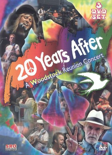 20 Years After: A Woodstock Reunion Concert, Volumes 1-3 [3 Discs] [DVD] [1989]