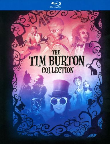 Tim Burton Collection [7 Discs] [With Book] [Blu-ray] 6738556
