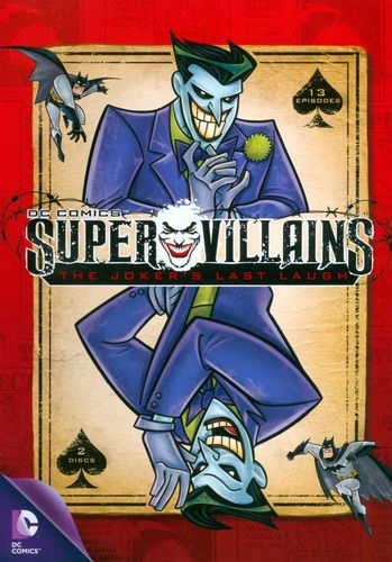 Super Villains: The Joker's Last Laugh [DVD] 6750441