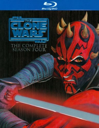 Star Wars: The Clone Wars - The Complete Season Four [3 Discs] [Blu-ray] 6750469
