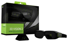 NVIDIA 942-11431-0007-001 3D Vision Wireless Glasses Black