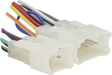 Metra - Wiring Harness for Most 1987 and Later Toyota Scion Vehicles - Multicolored