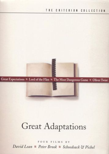 Great Adaptations [4 Discs] [Criterion Collection] [DVD] 6802775