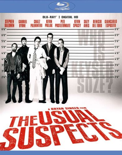 The Usual Suspects [20th Anniversary] [Blu-ray] [1995] 6811062