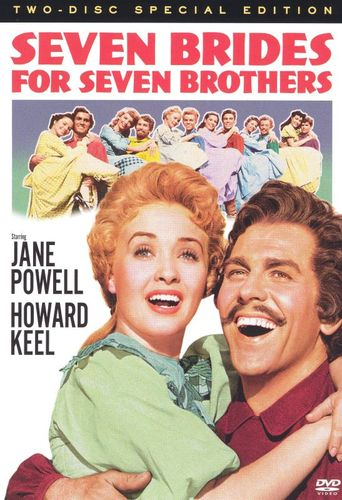 Seven Brides for Seven Brothers [50th-Anniversary Special Edition] [2 Discs] [DVD] [1954] 6812997