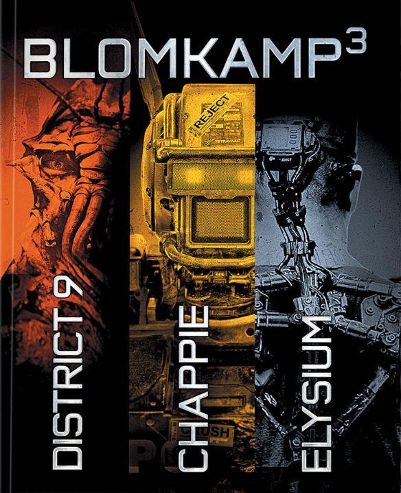 Chappie/District 9/Elysium [3 Discs] [With Digital Copy] [UltraViolet] [Blu-ray] 6842128