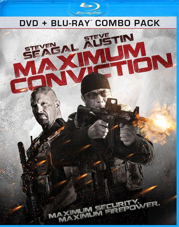Maximum Conviction [2 Discs] [Blu-ray/DVD] [2012] 6846941