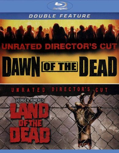 Dawn of the Dead (2004)/George A. Romero's Land of the Dead [2 Discs] [Blu-ray] 6853235
