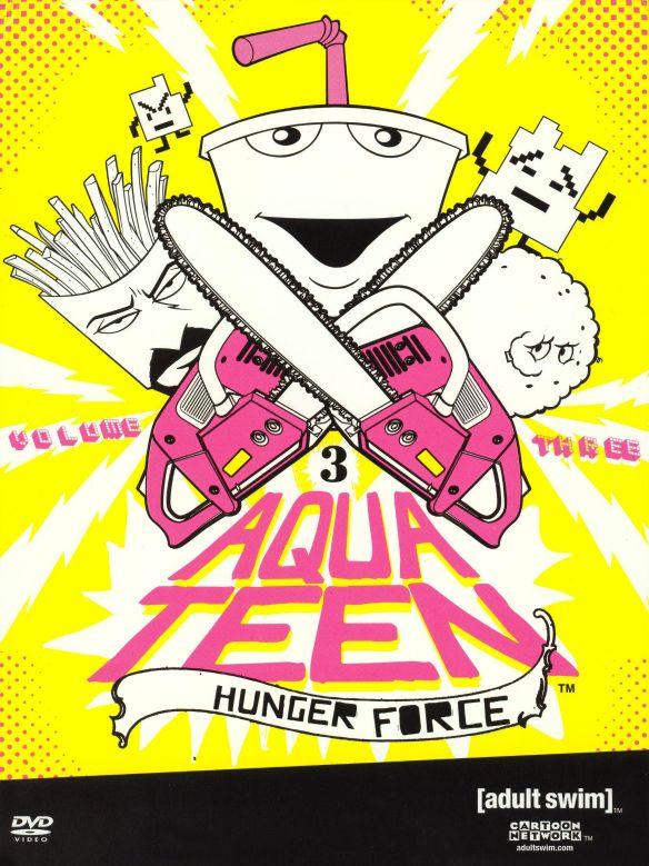 Aqua Teen Hunger Force, Vol. 3 [2 Discs] [DVD]