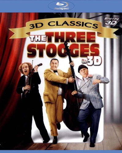 The Three Stooges in 3D [3D] [Blu-ray] [Blu-ray/Blu-ray 3D]