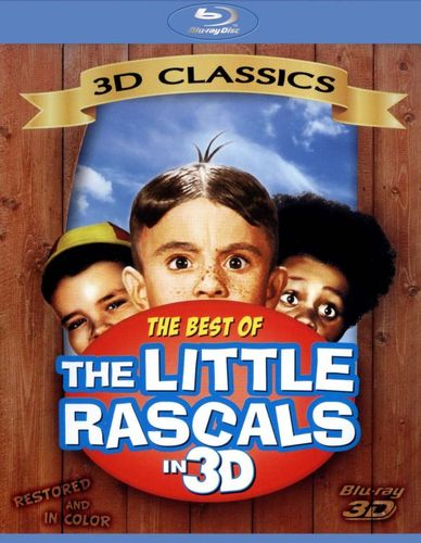 The Little Rascals: Best of Our Gang [Blu-ray] [Blu-ray 3D] 6870226