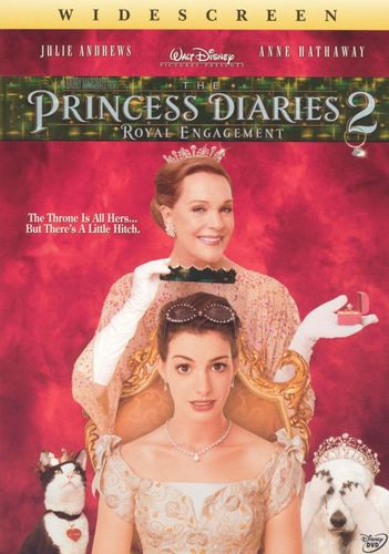 The Princess Diaries 2: Royal Engagement [WS] [DVD] [2004] 6881225